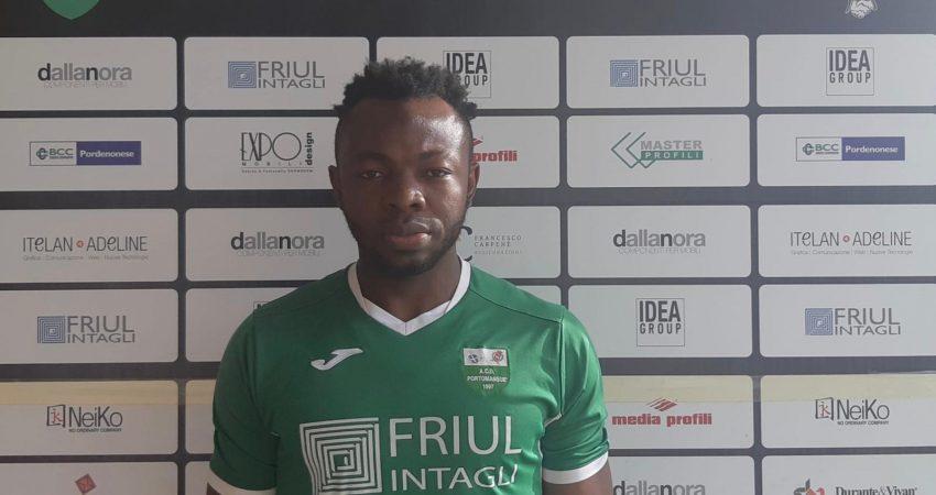 Alimeyaw Salifu nuovo giocatore dell'ACD Portomansuè